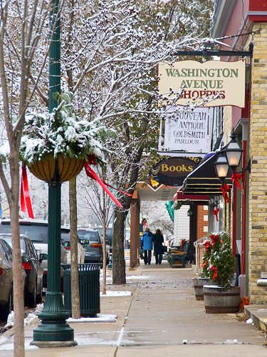 Downtown cedarburg