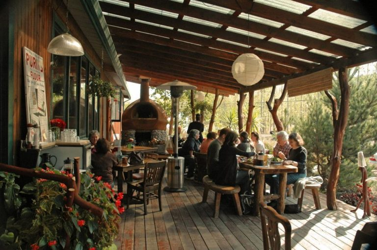 Gathering together farm restaurant