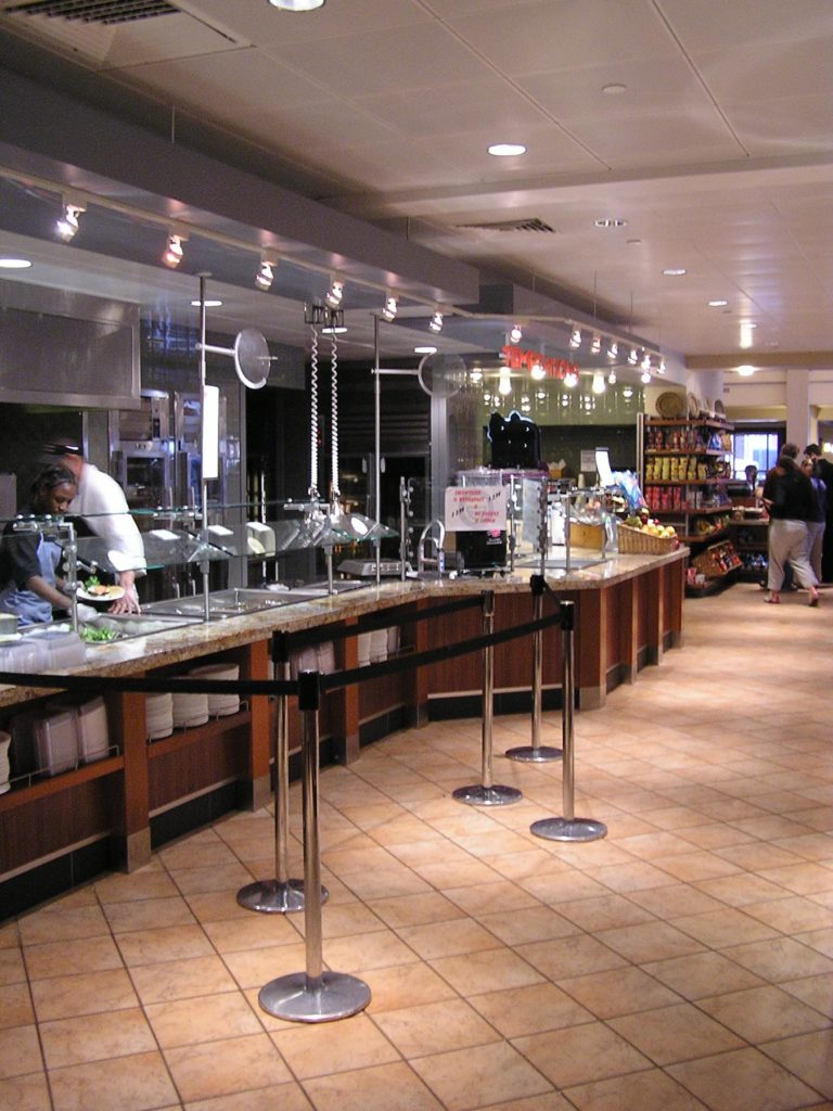 Boston college restaurants