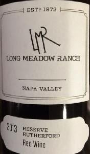 Long meadow ranch cabernet
