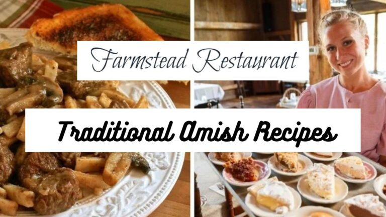 Find the Best Traditional Amish Recipes
