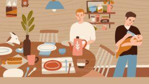 Feeding a family on a tight budget
